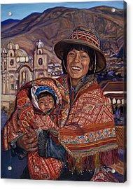 Peruvian Joy Acrylic Print