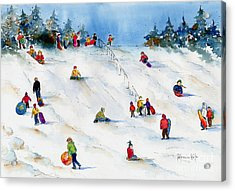 Pest Hill Acrylic Print by Pat Katz