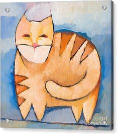 Pet Tiger Acrylic Print by Lutz Baar