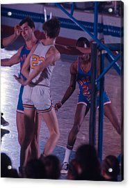 Pete Maravich Behind The Back Pass Acrylic Print by Retro Images Archive