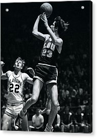Pete Maravich Fade Away Acrylic Print by Retro Images Archive
