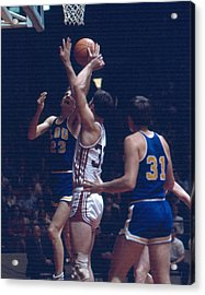 Pete Maravich In Traffic Acrylic Print by Retro Images Archive