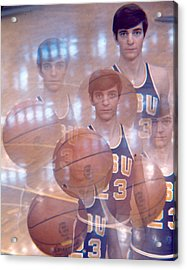 Pete Maravich Kaleidoscope Color 2 Acrylic Print by Retro Images Archive