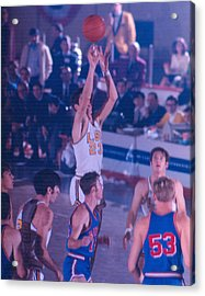 Pete Maravich Releasing Shot Acrylic Print by Retro Images Archive