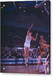Pete Maravich Shot From The Corner Acrylic Print by Retro Images Archive