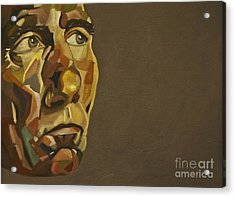 Pete Postlethwaite Acrylic Print