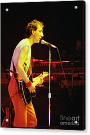 Pete Townsend Of The Who At Oakland Ca 1980 Acrylic Print