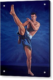 Peter Aerts  Acrylic Print by Paul Meijering