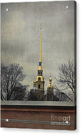 Peter And Paul Fortress Acrylic Print
