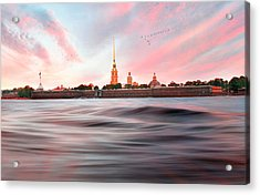 Acrylic Print featuring the photograph Peter And Paul Fortress by Roy  McPeak