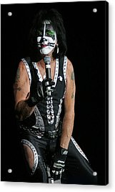 Acrylic Print featuring the photograph Peter Criss - Kiss by Don Olea