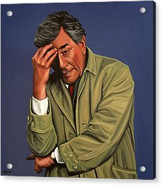 Peter Falk As Columbo Acrylic Print