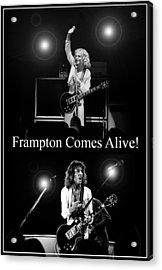 Peter Frampton Live Acrylic Print