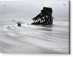 Peter Iredale Shipwreck Oregon 2 Acrylic Print