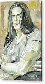 Peter Steele Portrait.2 Acrylic Print