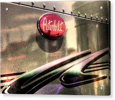 Peterbilt Acrylic Print