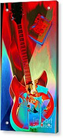 Pete's Guitar Acrylic Print