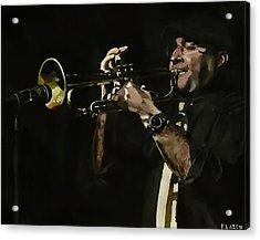 Pete's Solo Acrylic Print by Patricio Lazen