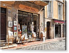 Petit Arts In France Acrylic Print