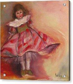 Petite Cisette Acrylic Print by Susan Hanlon
