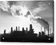 Petrochemical Plant Acrylic Print