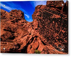 Petroglyphs Of Valley Of Fire Canyon Acrylic Print