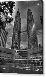 Petronas Tower Acrylic Print by Mario Legaspi