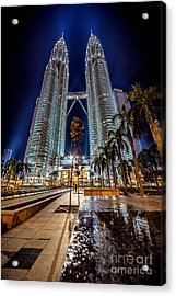 Petronas Twin Towers Acrylic Print