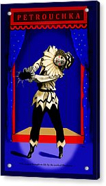 Acrylic Print featuring the painting Petrouchka by Terry Webb Harshman