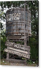 Petticoat Junction Acrylic Print by Kristin Elmquist