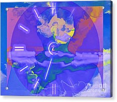 Phantom Crash Of Flight 334 Acrylic Print by Elizabeth McTaggart