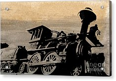 Phantom On Rails Acrylic Print by R Kyllo
