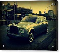 Acrylic Print featuring the photograph Rolls Royce Phantom by Salman Ravish