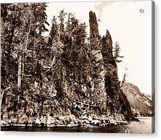 Phantom Shipwreck Acrylic Print