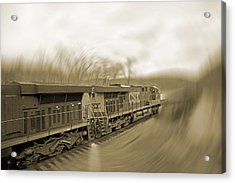 Phantom Train Acrylic Print