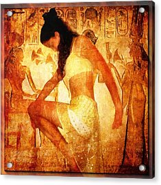 Pharaohs Daughter Acrylic Print by Gun Legler