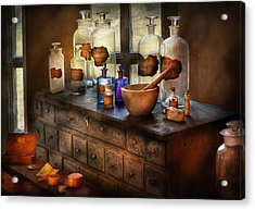 Pharmacist - Medicinal Equipment  Acrylic Print