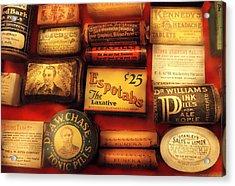 Pharmacist - The Druggist Acrylic Print by Mike Savad