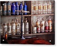 Pharmacy - Apothecarius  Acrylic Print by Mike Savad