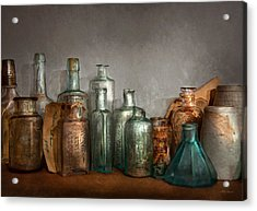 Pharmacy - Doctor I Need A Refill  Acrylic Print by Mike Savad