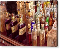 Pharmacy - The Selection  Acrylic Print by Mike Savad
