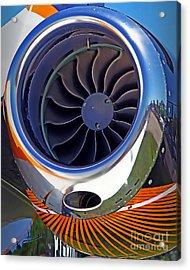 Phenom Turbine Acrylic Print