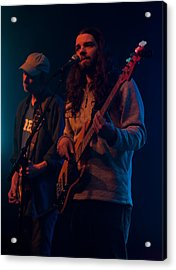 Acrylic Print featuring the photograph Phil And Steve by David Stine