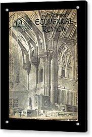 Phil Ecumenical Review 1965 Acrylic Print by Glenn Bautista