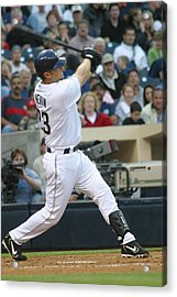 Acrylic Print featuring the photograph Phil Nevin by Don Olea