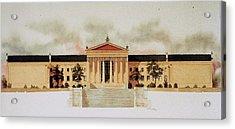 Philadelphia Art Museum Acrylic Print