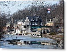 Philadelphia - Boat House Row Acrylic Print