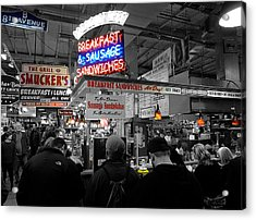 Philadelphia - Breakfast At Smucker's Acrylic Print