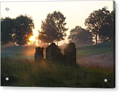 Philadelphia Cricket Club At Sunrise Acrylic Print
