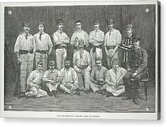 Philadelphia Cricket Team Acrylic Print by British Library